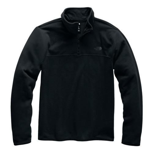 The North Face Men's Glacier TKA 1/4 Zip Pullover Blk_kx7