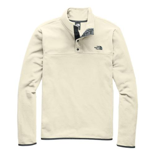 The North Face Men's TKS Glacier Snap-Neck Pullover Vintwhite_k82