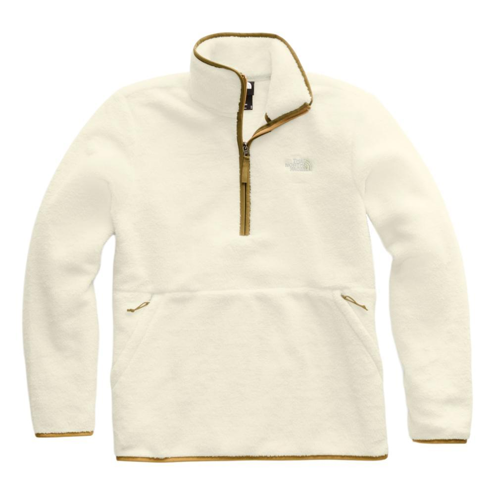 The North Face Men's Dunraven Sherpa 1/4 Zip Sweatshirt WHIKHAKI_G45