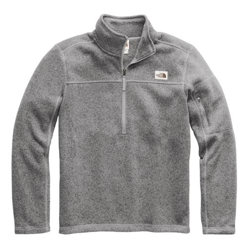 The North Face Men's Gordon Lyons 1/4 Zip Pullover Greyhtr_dyy