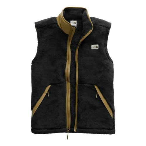 The North Face Men's Campshire Vest Blk/Khaki_wvw