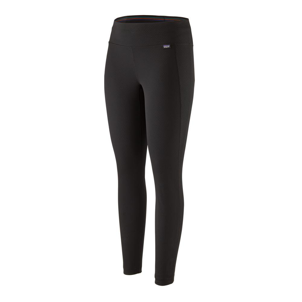 Patagonia Women's Capilene Midweight Bottoms BLK