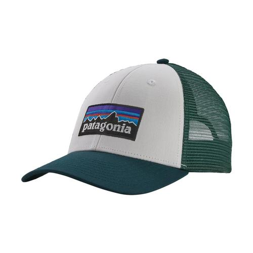 Patagonia P-6 LoPro Trucker Hat Whpg