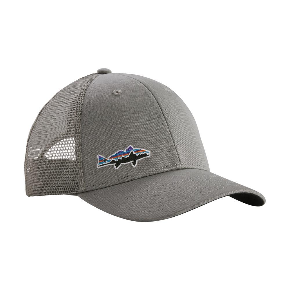 Patagonia Small Fitz Roy Fish LoPro Trucker Hat DGRE