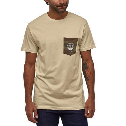 Patagonia Men's Defend Public Lands Organic Pocket T-Shirt Oywh