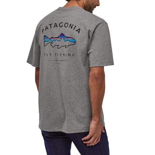 Patagonia Men's Framed Fitz Roy Trout Responsibili-Tee Glh