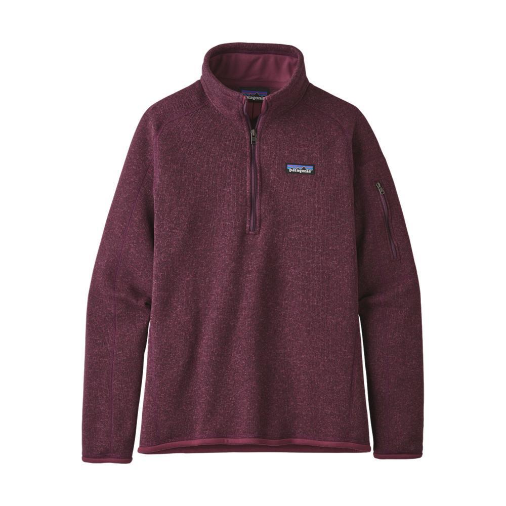 Patagonia Women's Better Sweater 1/4-Zip Fleece BALSAMIC_LIT