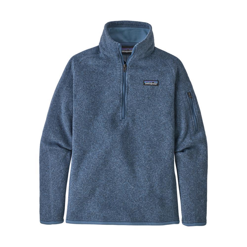 Patagonia Women's Better Sweater 1/4-Zip Fleece BLUE_WOBL