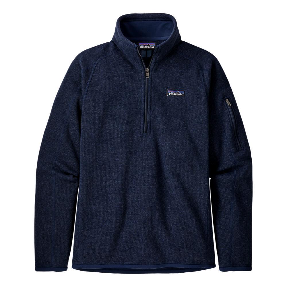 Patagonia Women's Better Sweater 1/4-Zip Fleece NAVY_NENA