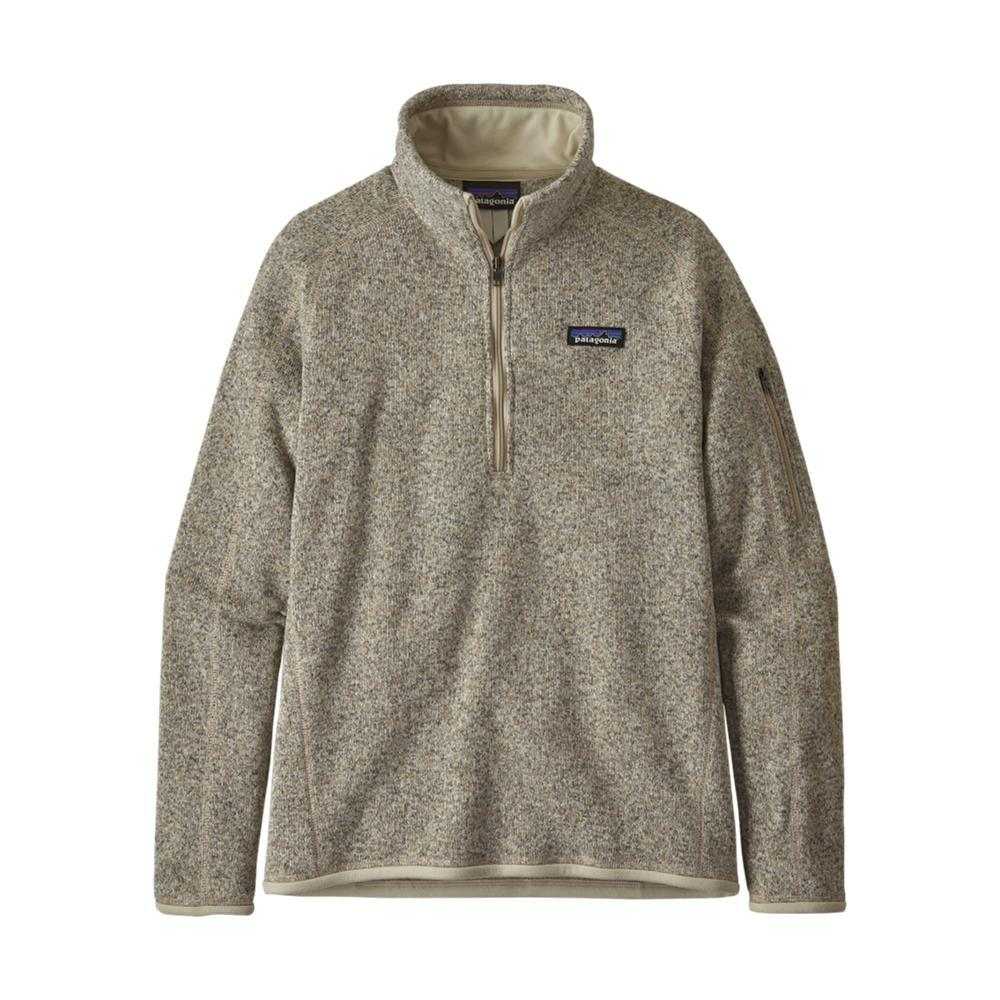 Patagonia Women's Better Sweater 1/4-Zip Fleece PELICAN_PLCN
