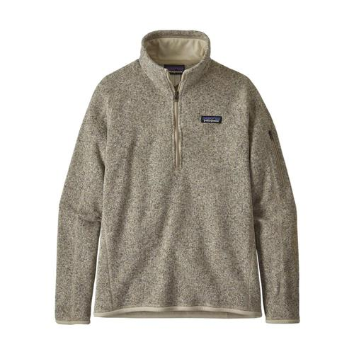 Patagonia Women's Better Sweater 1/4-Zip Fleece Pelican_plcn