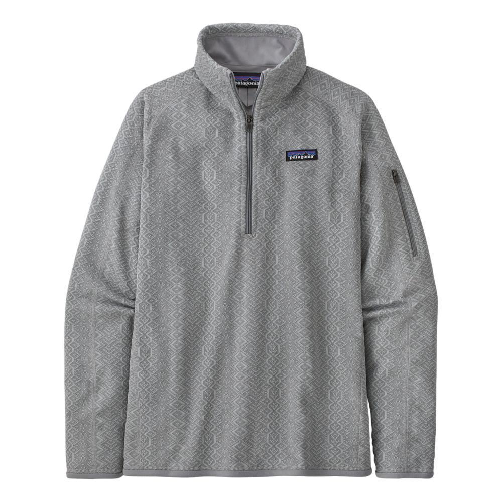 Patagonia Women's Better Sweater 1/4-Zip Fleece SGREY_FJSA