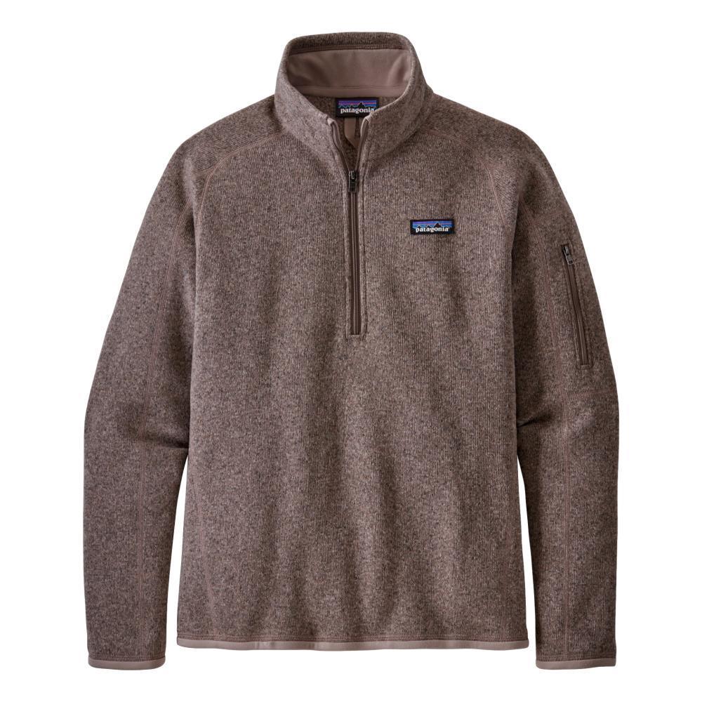 Patagonia Women's Better Sweater 1/4-Zip Fleece TAUPE_FRYT