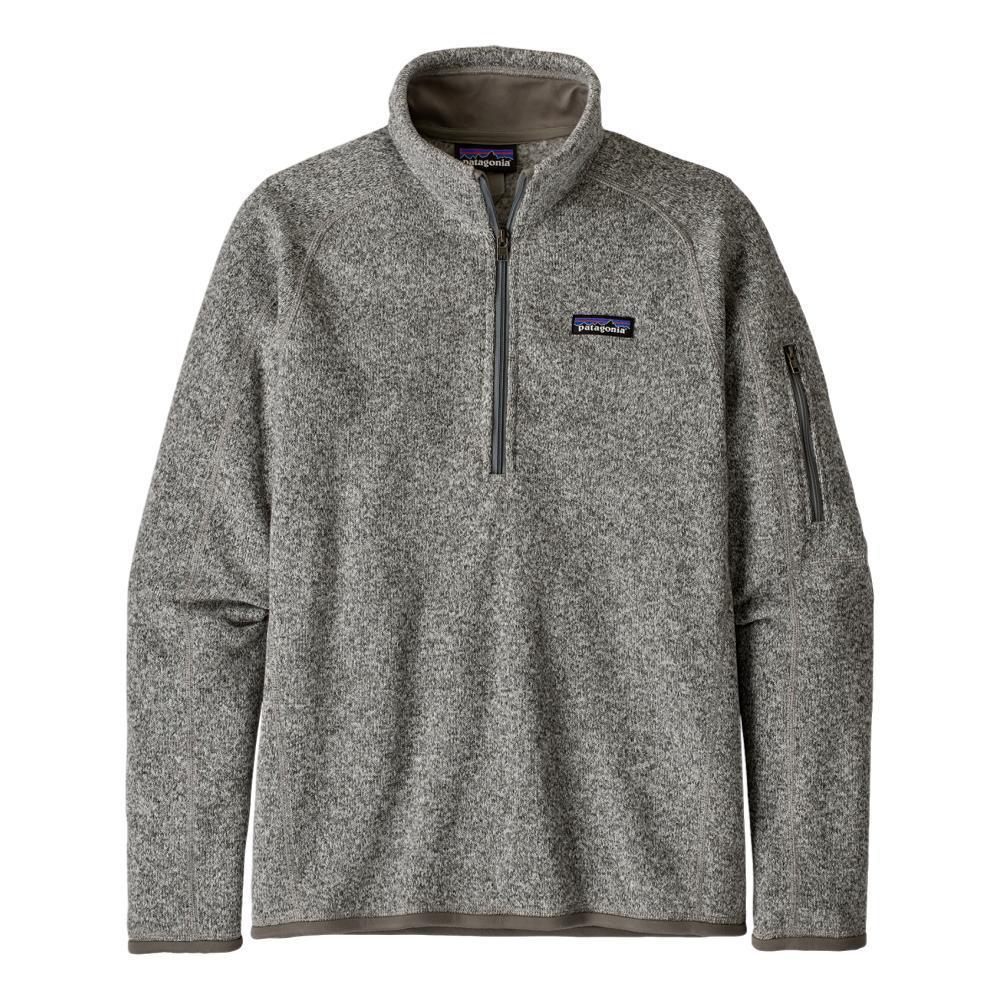 Patagonia Women's Better Sweater 1/4-Zip Fleece WHITE_BCW