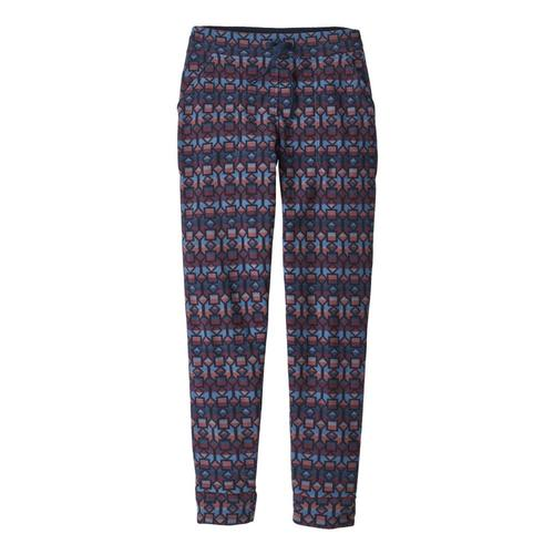 Patagonia Women's Snap-T Fleece Pants Blue_cmsb