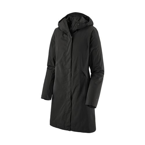 Patagonia Women's Yosemite Falls Trench Coat Black_blk