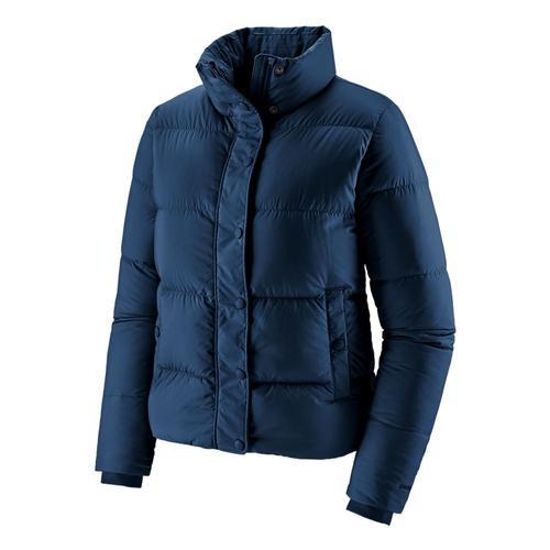 Patagonia Women's Silent Down Jacket Blue_snbl