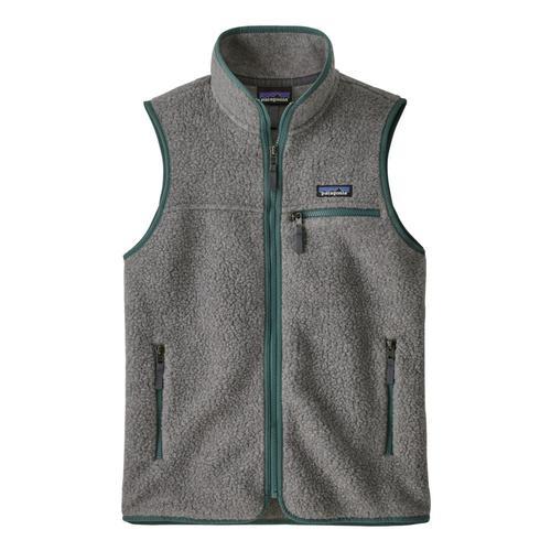 Patagonia Women's Retro Pile Vest Grey_sgry