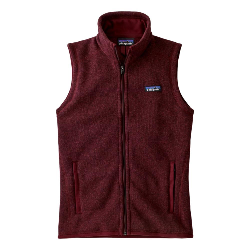 Patagonia Women's Better Sweater Vest RED_CHIR