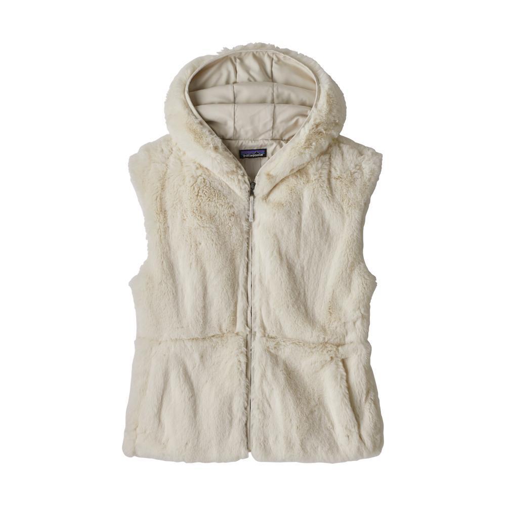 Patagonia Women's Lunar Frost Hooded Vest NATURAL_NAT