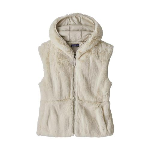 Patagonia Women's Lunar Frost Hooded Vest Natural_nat