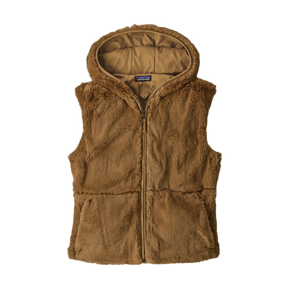 Patagonia Women's Lunar Frost Hooded Vest TAN_BRTA