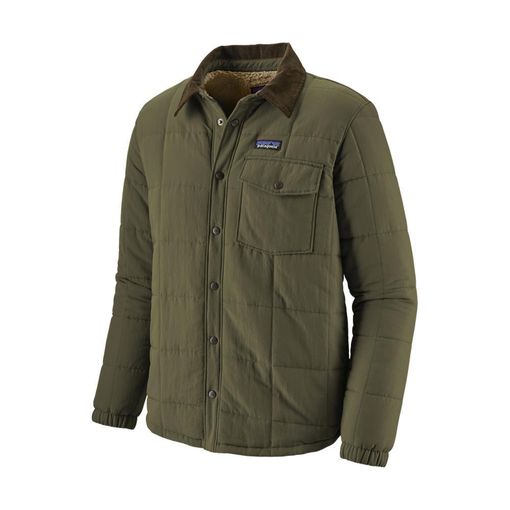 Patagonia Men's Isthmus Quilted Shirt Jacket GRN_INDG