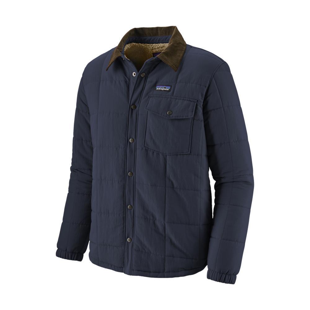Patagonia Men's Isthmus Quilted Shirt Jacket NAVY_NENA