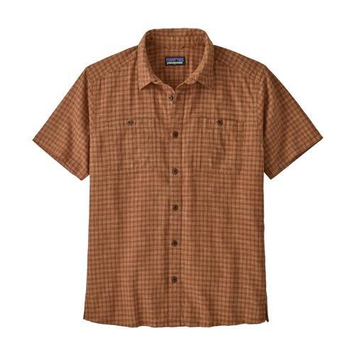 Patagonia Men's Back Step Shirt Brown_inhb