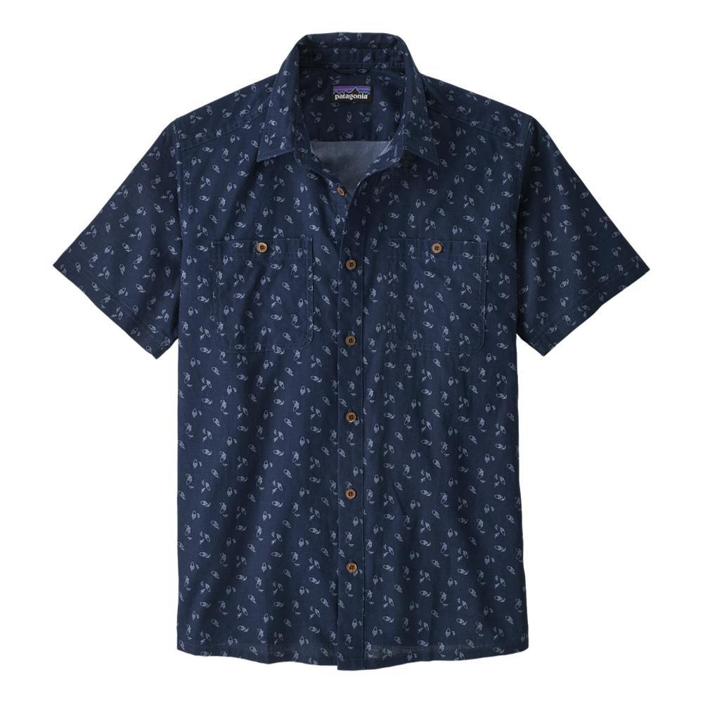 Patagonia Men's Back Step Shirt NAVY_ATNN