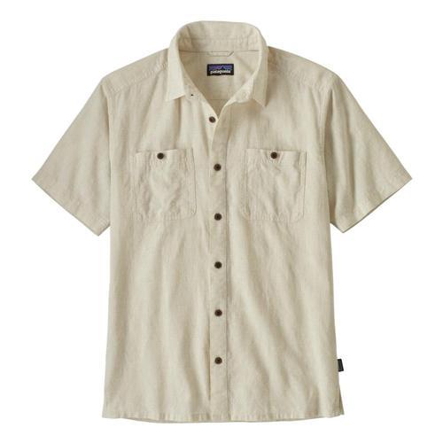 Patagonia Men's Back Step Shirt Pumice_gypu