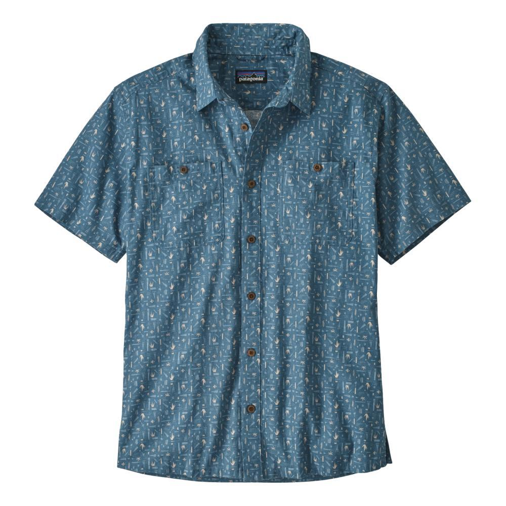Patagonia Men's Back Step Shirt SWAMP_SMPB