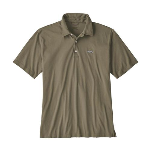 Patagonia Men's Polo - Trout Fitz Roy Khaki_ska