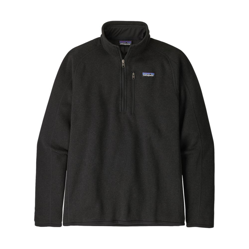 Patagonia Men's Better Sweater 1/4-Zip Fleece BLK_BLK