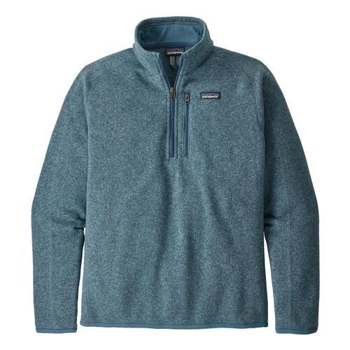 Patagonia Men's Better Sweater 1/4-Zip Fleece Blue_pgbe