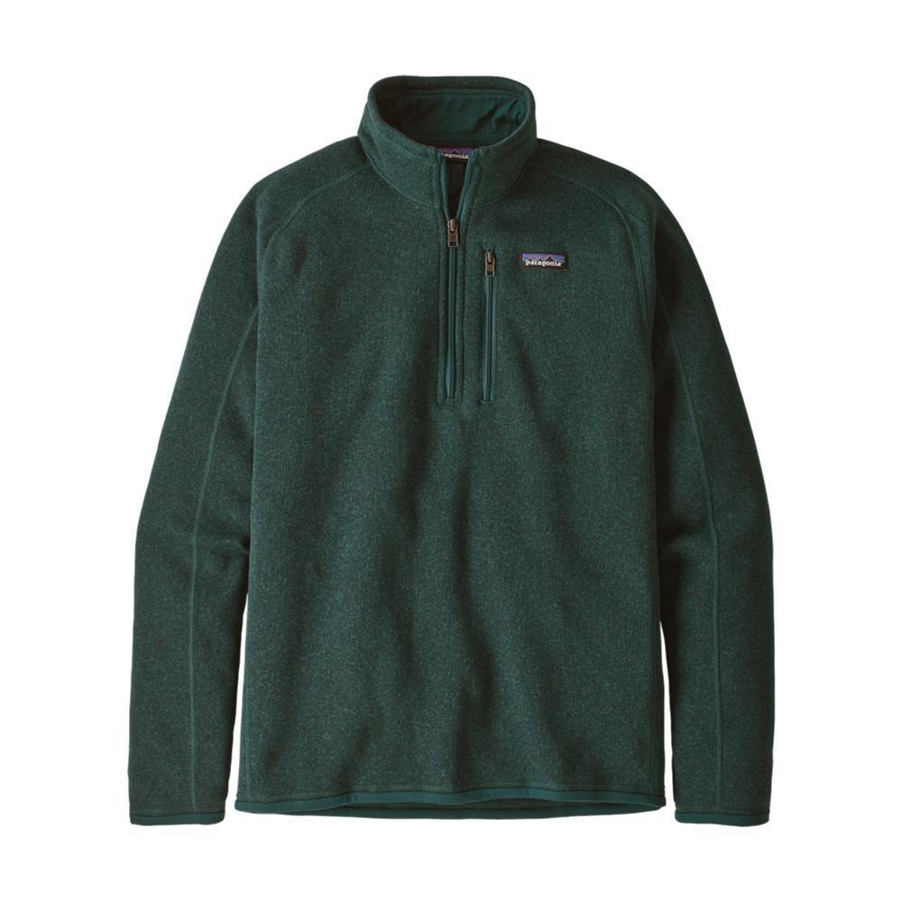 Patagonia Men's Better Sweater 1/4-Zip Fleece GREEN_PIGR