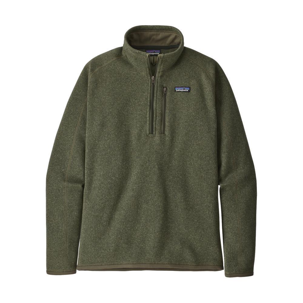 Patagonia Men's Better Sweater 1/4-Zip Fleece GRN_INDG