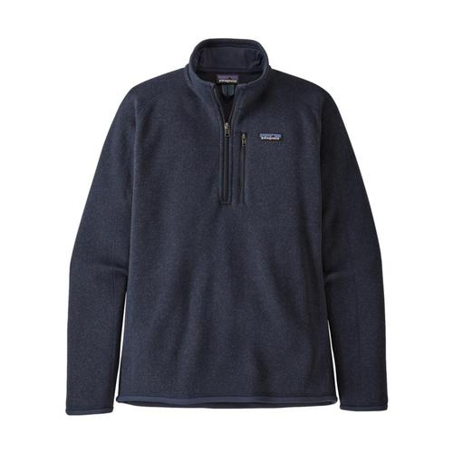 Patagonia Men's Better Sweater 1/4-Zip Fleece Navy_nena