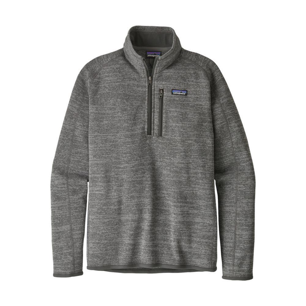 Patagonia Men's Better Sweater 1/4-Zip Fleece NICKL_NKL
