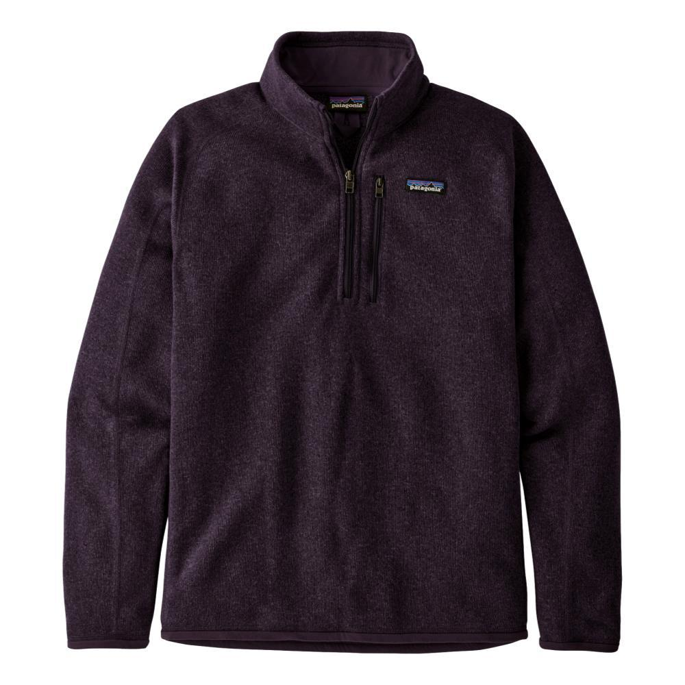 Patagonia Men's Better Sweater 1/4-Zip Fleece PURPLE_PTPL