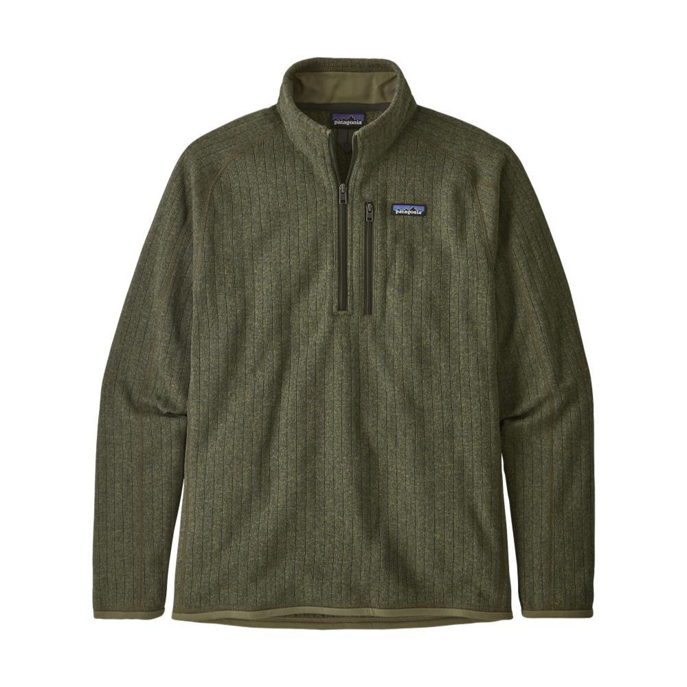 Patagonia Men's Better Sweater Rib Knit 1/4-Zip Fleece GRN_IGRK