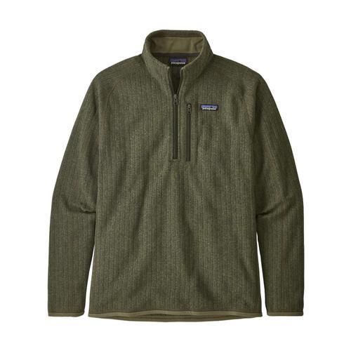 Patagonia Men's Better Sweater Rib Knit 1/4-Zip Fleece Grn_igrk