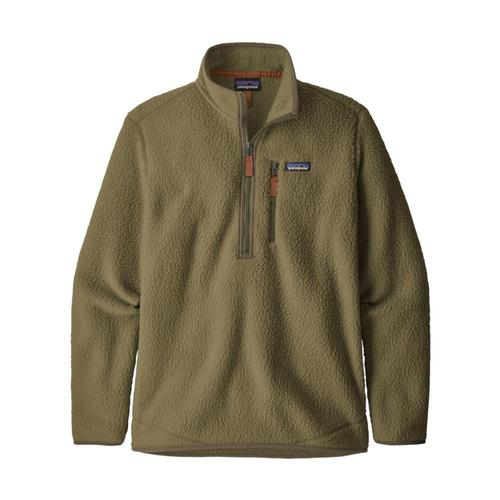 Patagonia Men's Retro Pile Fleece Pullover Khaki_ska