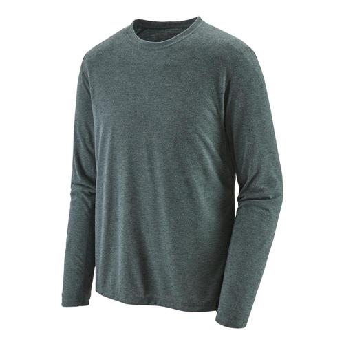 Patagonia Men's Long Sleeved Capilene Cool Trail Shirt Carbon_can