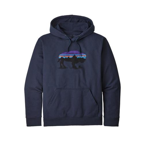 Patagonia Men's Fitz Roy Bison Uprisal Hoody Navy_cny