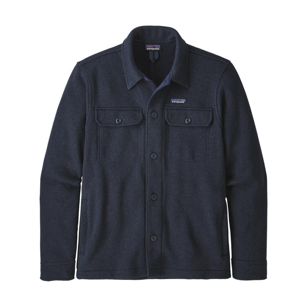 Patagonia Men's Better Sweater Fleece Shirt Jacket NAVY_NENA