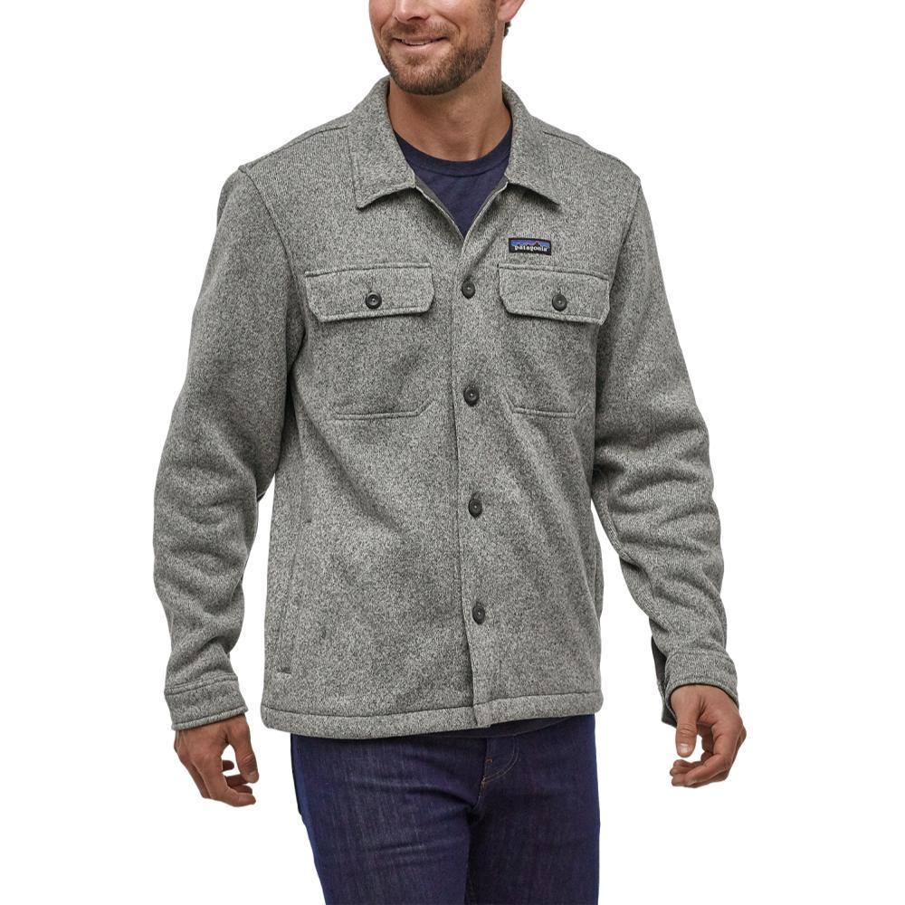 Patagonia Men's Better Sweater Fleece Shirt Jacket STONE_STH