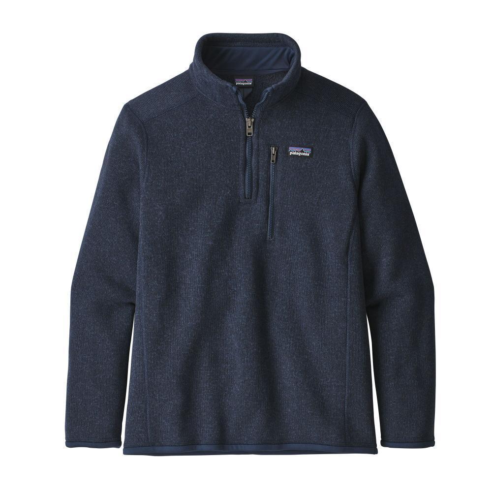 Patagonia Boys Better Sweater 1/4-Zip Fleece NAVY_NENA