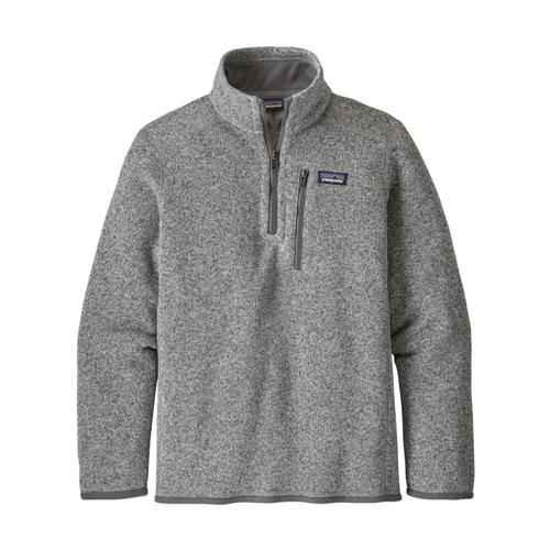 Patagonia Boys Better Sweater 1/4-Zip Fleece Stone_sth