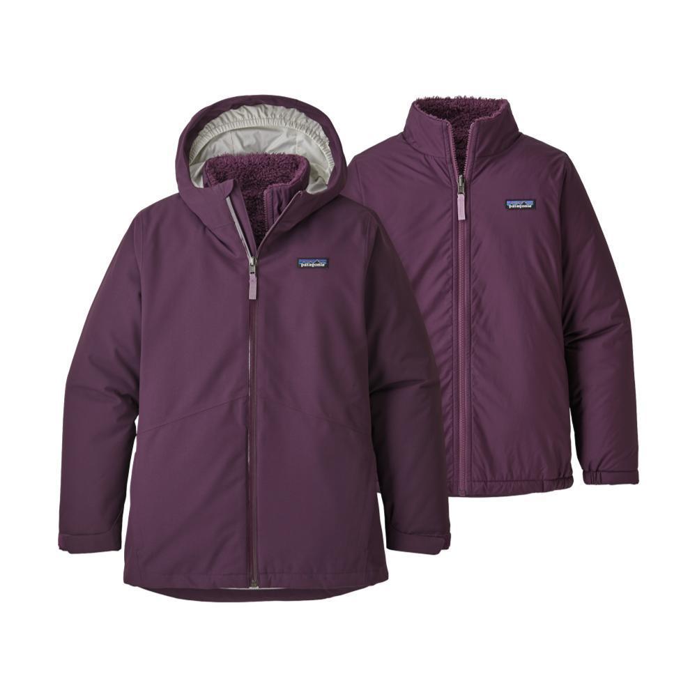 Patagonia Girls 4-In-1 Everyday Jacket PLUM_DPM